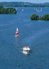 Schiff der 5-Seen-Fahrt