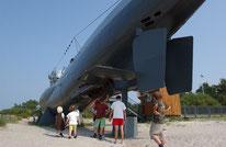 Das U-Boot U-995 ist heute ein Museum