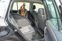 behindertengerchter VW Golf Sportsvan, Fahrschulfahrzeug, 3. Sitzplatz, Sodermanns