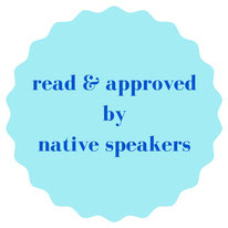 language courses read and approved by native speakers