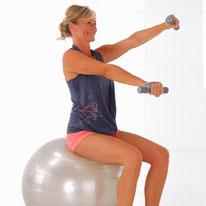 gym sur ballon
