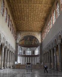 Basilique Ste Marie Majeure (avec Yves Laurent sur la droite)