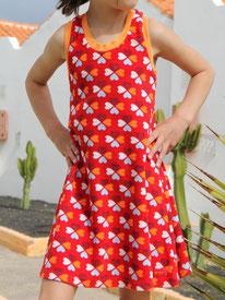 Frottee-Kleid Lumpenprinzessin
