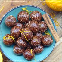 Sinaasappel-choco bliss balls