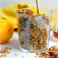 Sinaasappel-kaneel granola