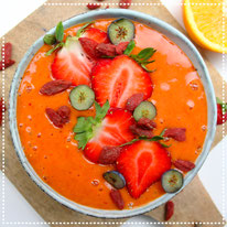 Goji berry smoothiebowl