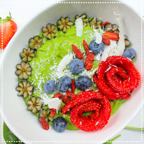 Green power smoothiebowl