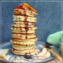 Appel-hüttenkäse pancakes