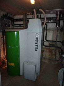 Chaudière bois granulés ÖkoFen PES 36-56 kW