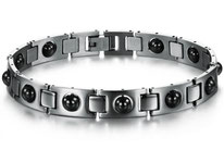 bracelet magnetique hematite homme