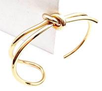 bracelet Jonc Original Noeud flot
