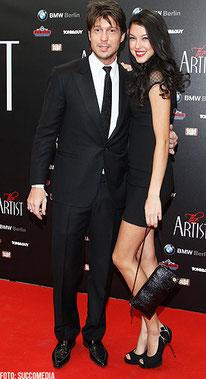 Model Rebecca Mir mit Sebastian Deyle
