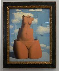 Magritte, La Folie des grandeurs, 1962 / Exposée au Centre Pompidou, 2016