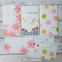スタンプで作るお祝い袋&メッセージカード