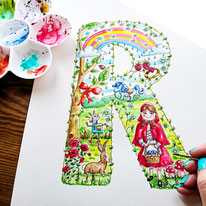 Custom Alphabet Art