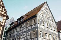 Holzfenster, historischer Stil Calw