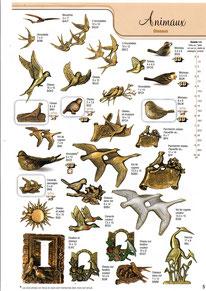 bronze-animaux-oiseaux-vol-hirondelles-cygne