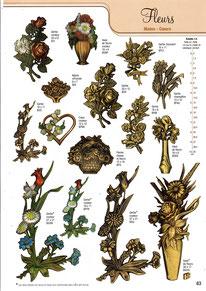 bronzes-plaques(funeraires-fleurs-mains-coeurs-paquerette