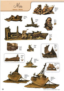bronze-plaque-funeraire-bateaux-chalutiers-marins-peche-voile