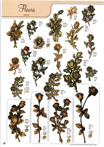 bronzes-funeraires-fleurs-roses-plantes-rosier