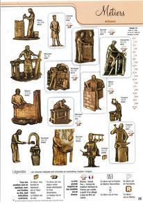 bronze-plaque-ornemement-sepulture-metiers-artisans-forgerons