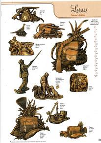 bronze-plak-funeraie-loisirs-chasse-peche