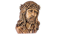applique-medaillon-christ-plaque-funeraire-sepulture-orange-vaucluse-84
