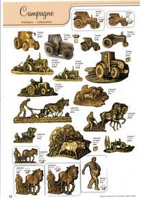 bronze-plaque-funeraire-tracteur-laboureur-cheval