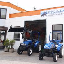Eco Systems GmbH, ecopard Kompakttraktoren