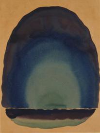 《平原に映る光 No.3》1917年