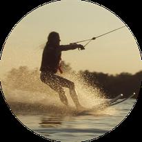 Waterskiing Abu Dhabi