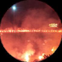 Steigerwaldstadion Erfurt Bengalo Ultras