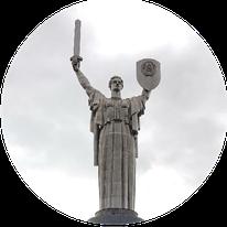Mutter Heimat Statur Kiew