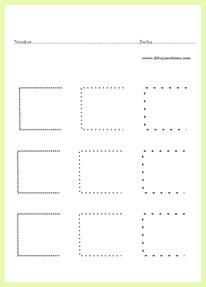 grafo-motricidad / orientación espacial drcha