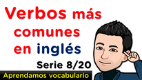 Verbos comunes en inglés
