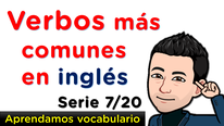 Pronunciación y significado de verbos en inglés