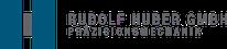 Rudolf Huber Präzisionsmechanik - Web-Logo