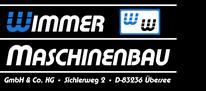 Wimmer Maschinenbau - Web-Logo