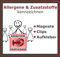 Allergene in Speisekarten