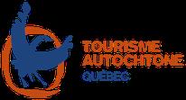 Logo Tourisme Autochtone Québec en couleur rouge et bleu