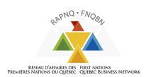 Logo RAPNQ Réseau d'affaires des Premières Nations du Québec
