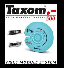 Printer und Preismodul mit Rahmen für TAXOM 500