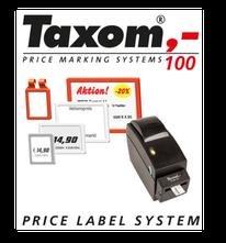 Rahmen und Thermodrucker für TAXOM 100