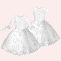 comment faire un patron de robe pour fillette