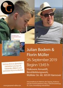 26.09.2019, Hannover: Florin Müller & Julian Bodem liebe