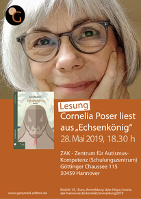 28.05.2019: Cornelia Poser liest in Hannover