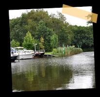 Hier sehen Sie einen Ausschnitt des 'Neuen Hafen' neben dem Ziegeleipark im Zehdenicker Ortsteil Mildenberg.