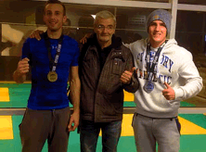 Médaillés coupe zone ouest grappling ffkmda