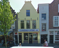 Coffeeshop Cannabiscafe Double AA Leiden