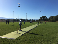 Gingins Cricket Club drop-in pitch